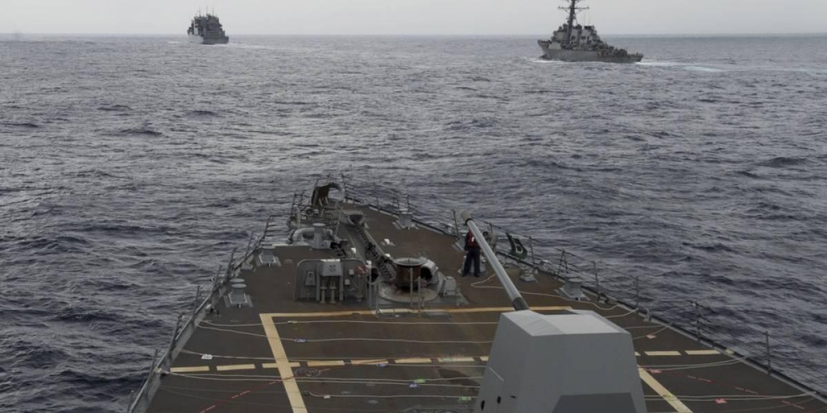 A un paso del enfrentamiento: así de cerca estuvieron de chocar el destructor chino y el buque estadounidense