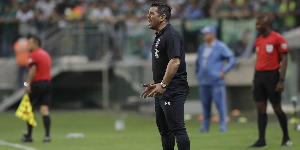 """La nula autocrítica de Héctor Tapia en Colo Colo: """"Nos vamos tremendamente orgullosos"""""""