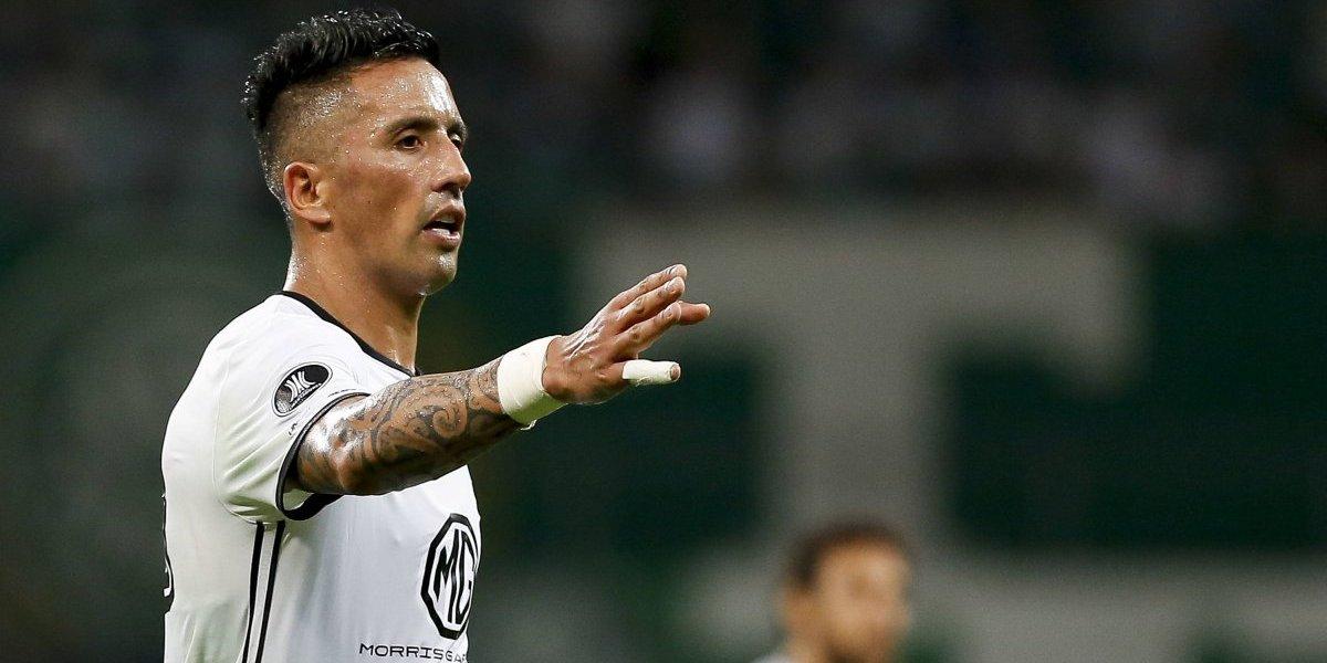 """Lucas Barrios dio la cara tras la eliminación ante Palmeiras: """"Todos somos responsables"""""""
