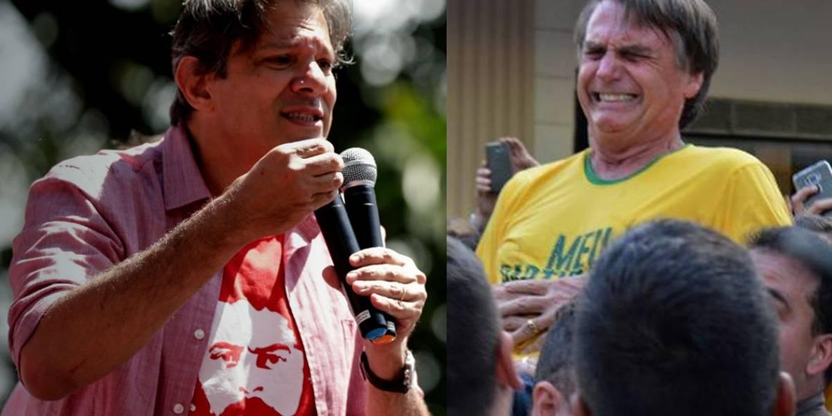 El profesor y el ex capitán que polarizan las elecciones presidenciales en Brasil