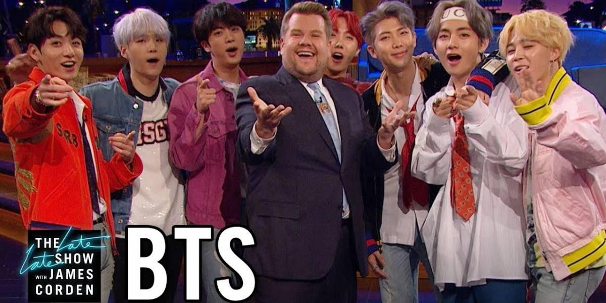 Confira retrospectiva da aparições do grupo BTS na TV americana