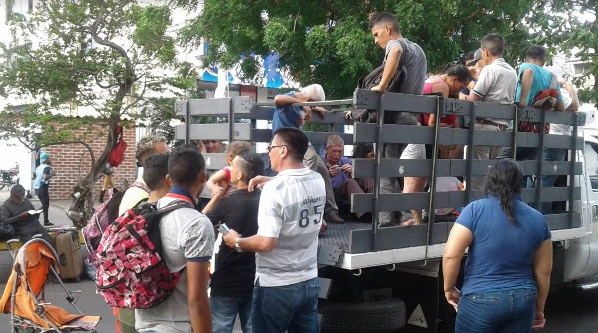 Migrantes Venezuela