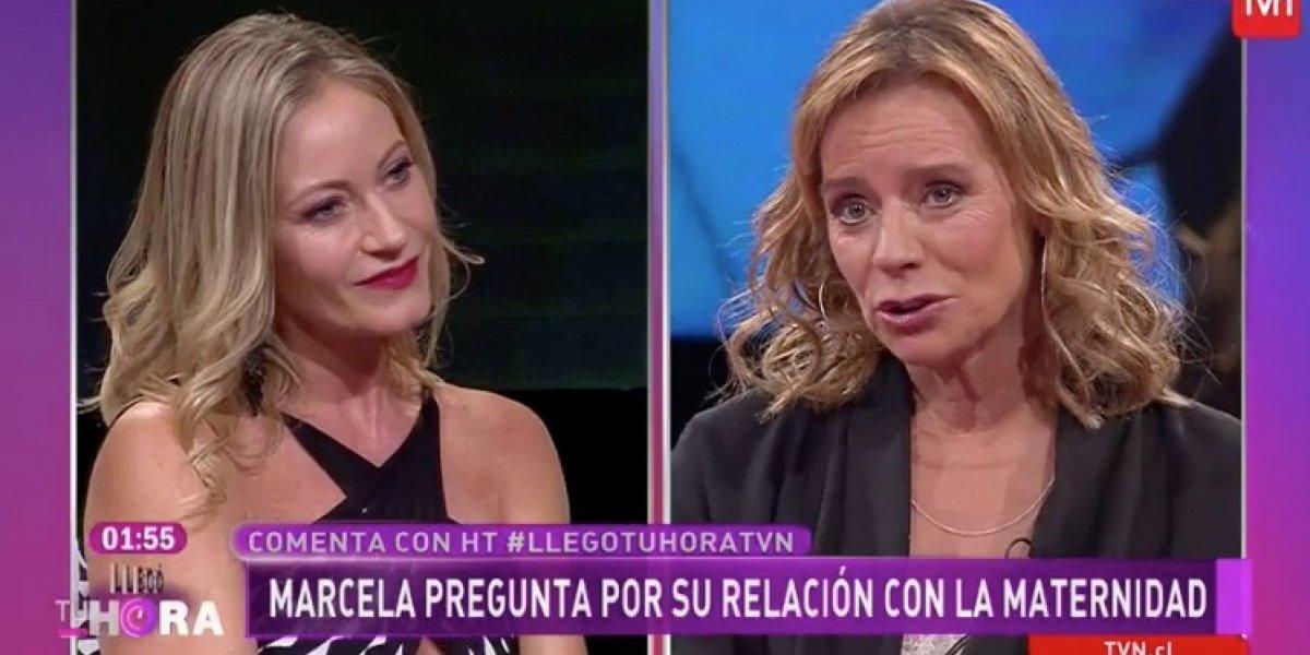 Kathy Salosny protagoniza tenso momento con Marcela Vacarezza tras pregunta sobre la maternidad