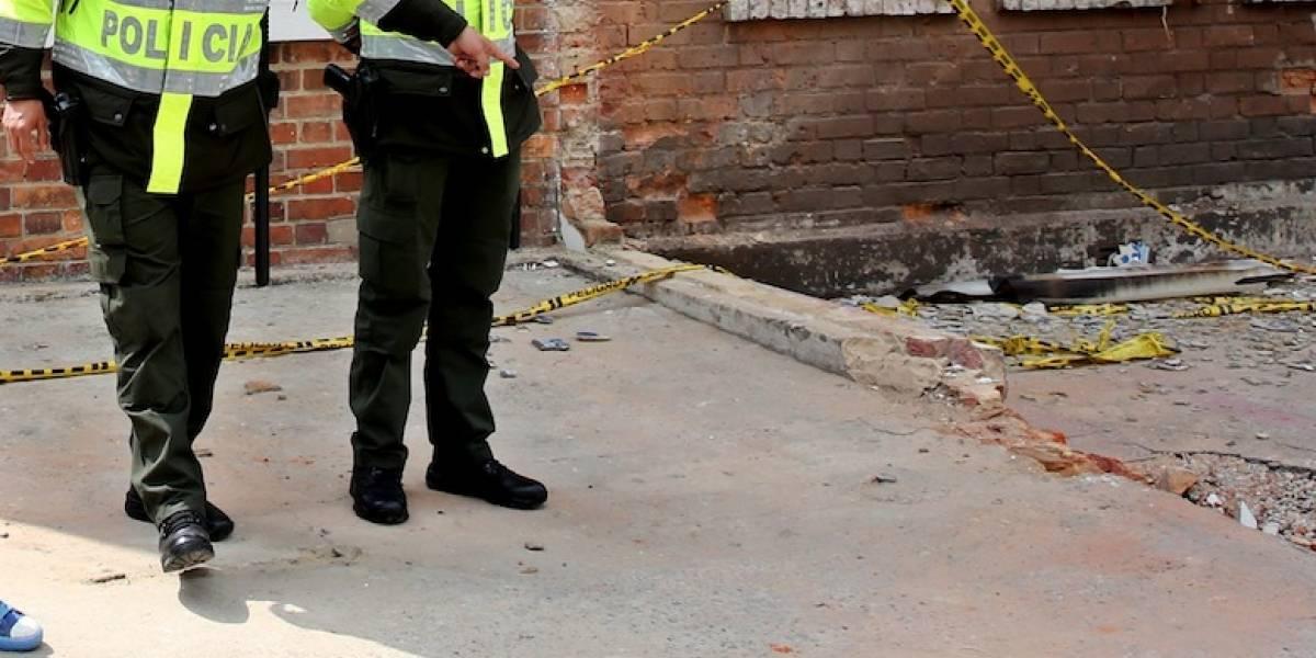 Ataque con explosivos en el Cesar deja dos policías muertos