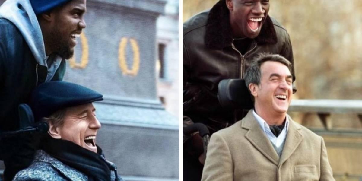 """Bryan Cranston y Kevin Hart protagonizan el primer tráiler del remake de """"Amigos intocables"""""""