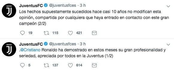 La Juventus se pronunció sobre el escándalo que involucra a Cristiano Ronaldo