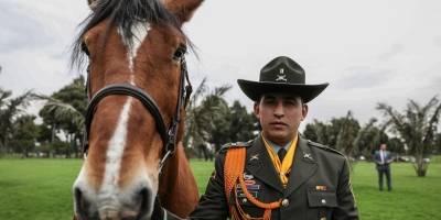 homenaje a nuestros héroes de cuatro patas que trabajan por la seguridad en Bogotá 3