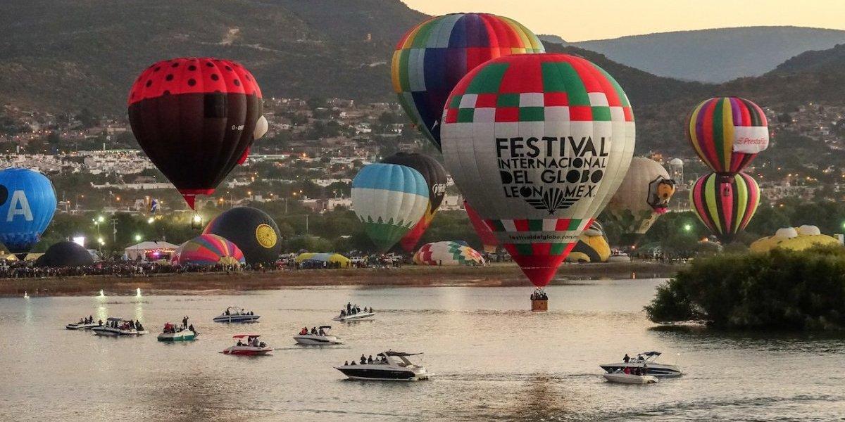 El Festival Internacional del Globo cruza fronteras