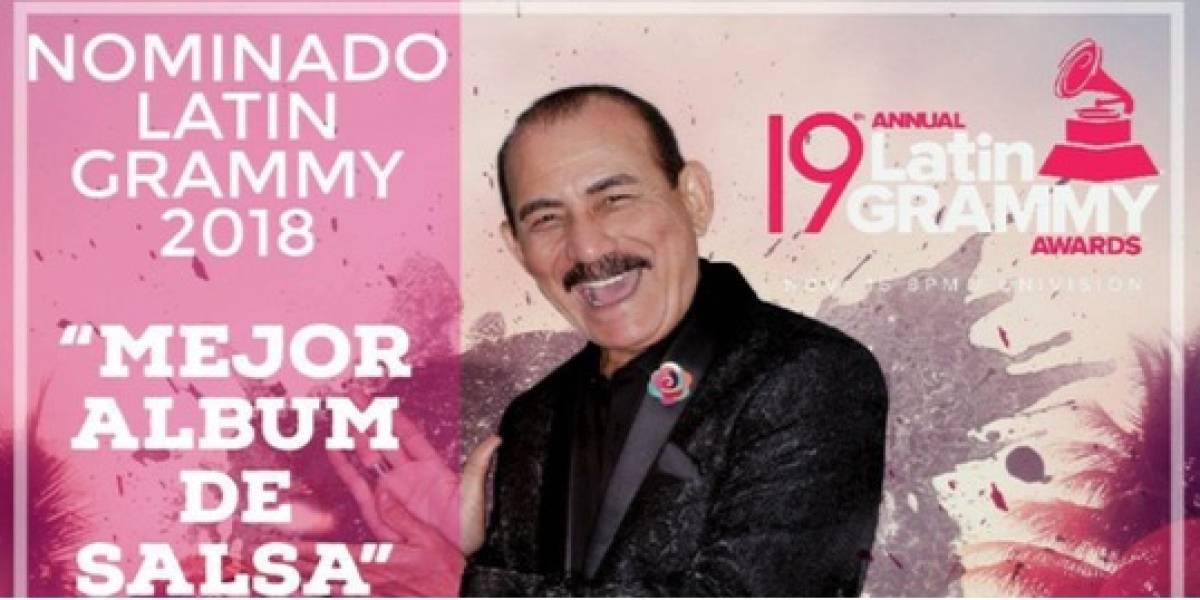 Salsero Charlie Aponte celebra primera nominación Grammy Latino