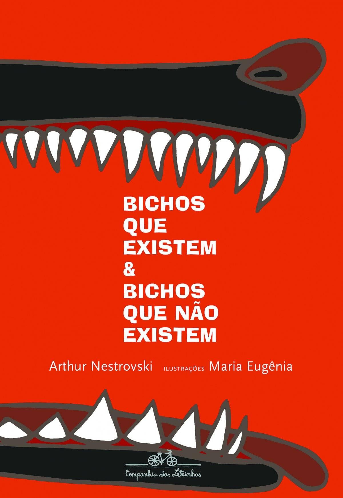 """Livro """"Bichos Que Existem & Bichos Que Não Existem"""" (Companhia das Letras) Preço sugerido: R$ 40 www.companhiadasletras.com.br"""