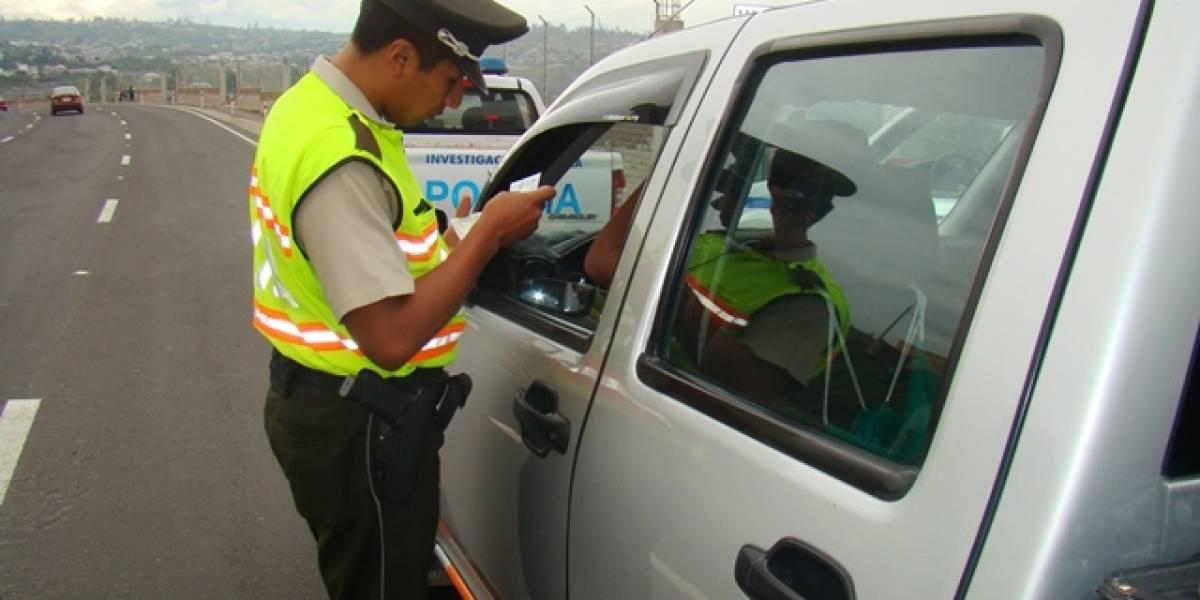 Así serán los operativos de control de tránsito durante Feriado