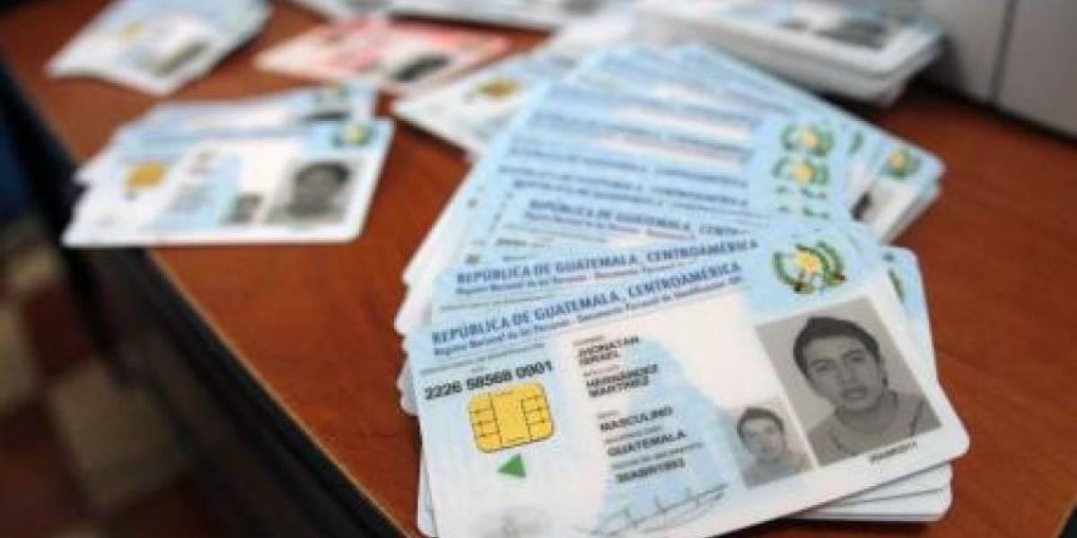 Analizan prorrogar vigencia de más de 400 mil DPI para que ciudadanos puedan votar