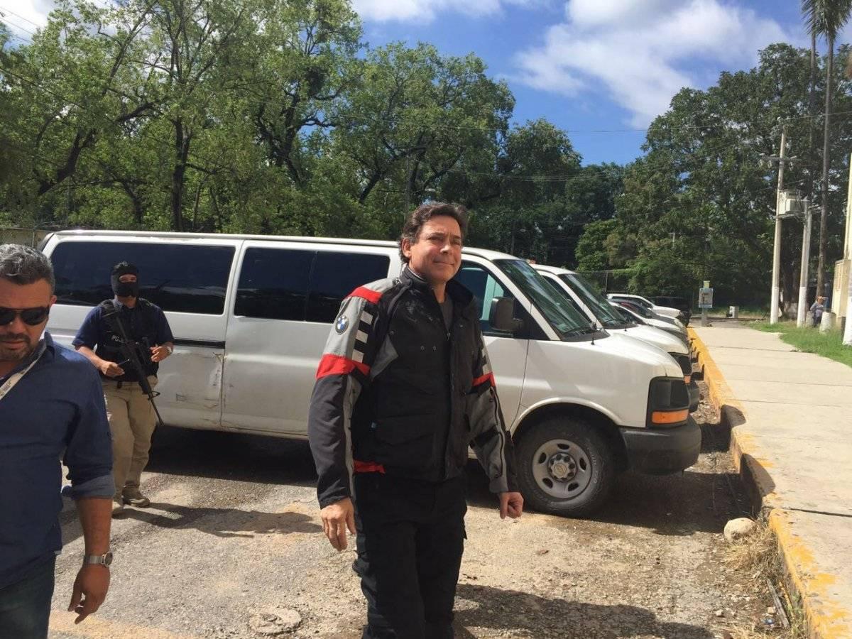 Detención del ex gobernador Foto: Cuartoscuro