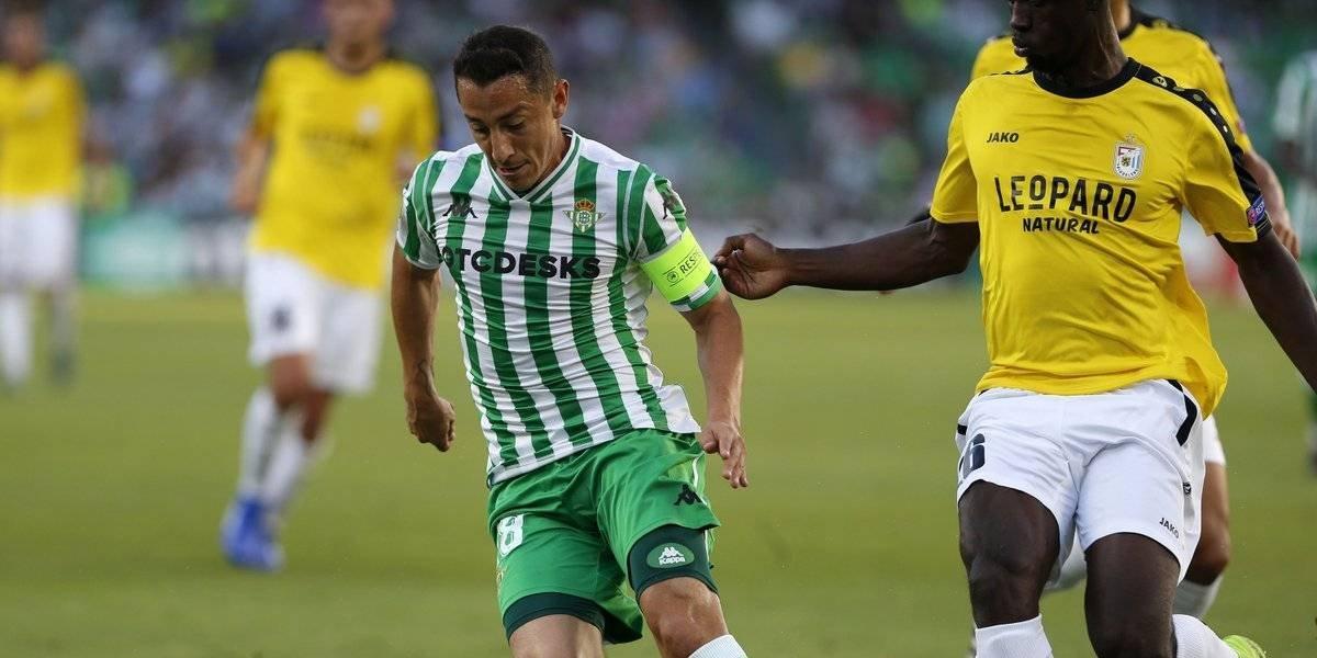 Guardado y Betis obtienen su primera victoria en la Europa League