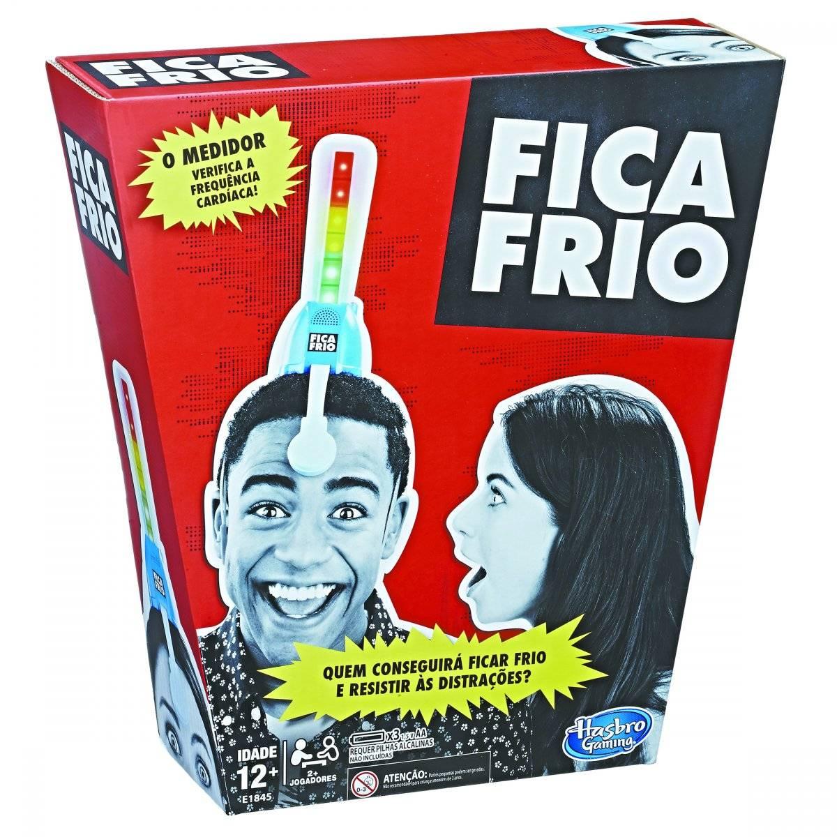 """Jogo """"Fica Frio"""" Preço sugerido: R$ 170 www.hasbro.com.br"""
