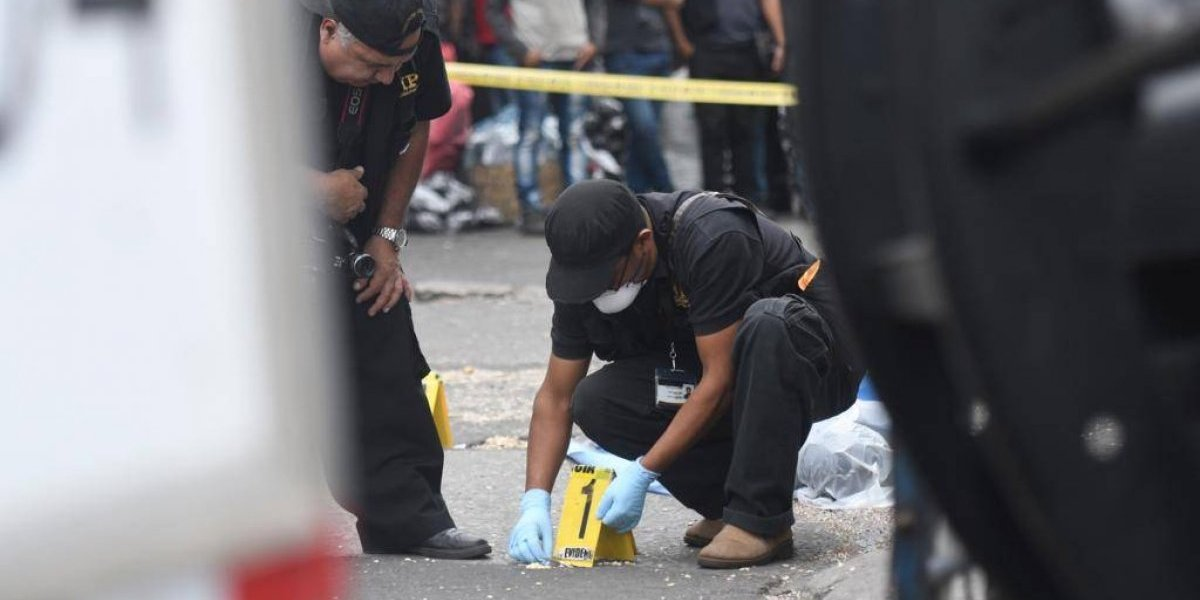 Presunto asaltante muere tras ser atacado a balazos en la zona 4