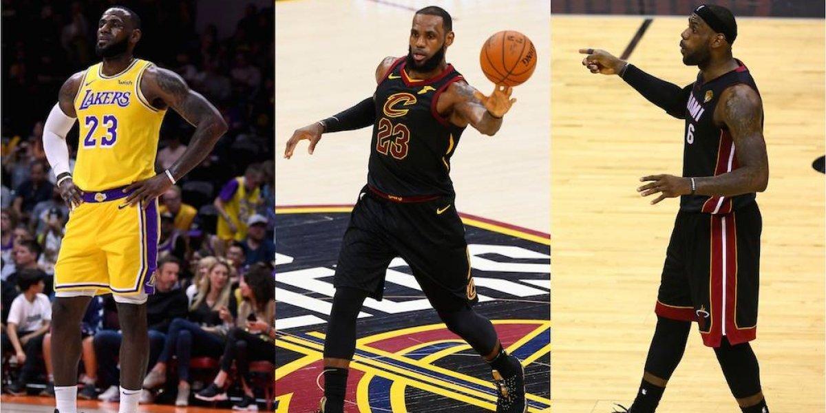 Jugadores de la NBA en 'extraños' uniformes