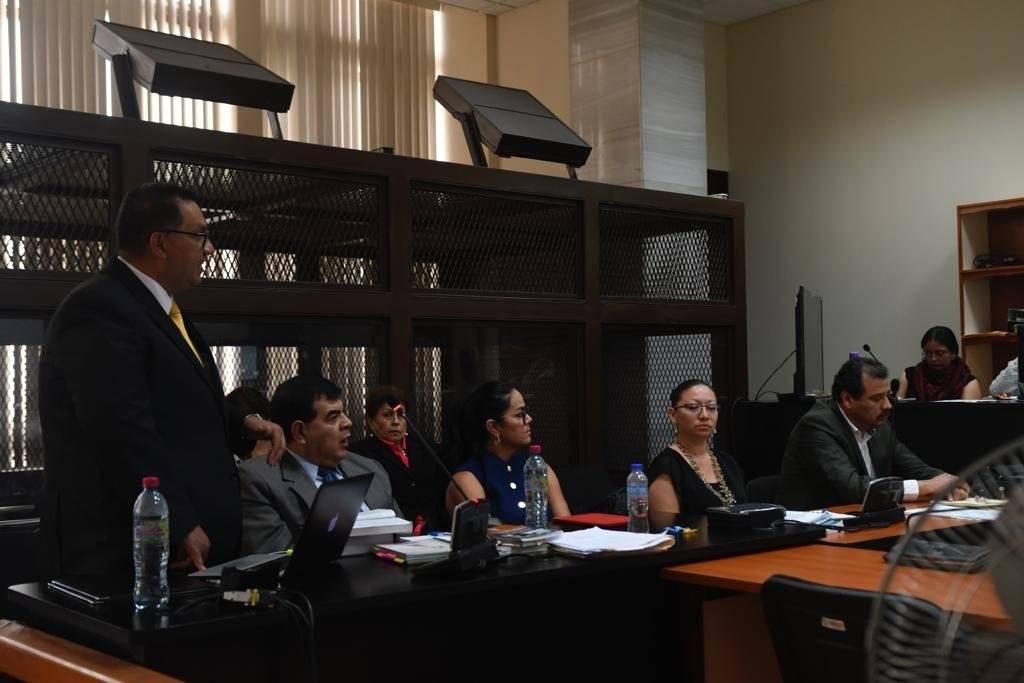 """Sospechosos en el caso """"Manipulación de justicia"""". Foto: Omar Solís"""