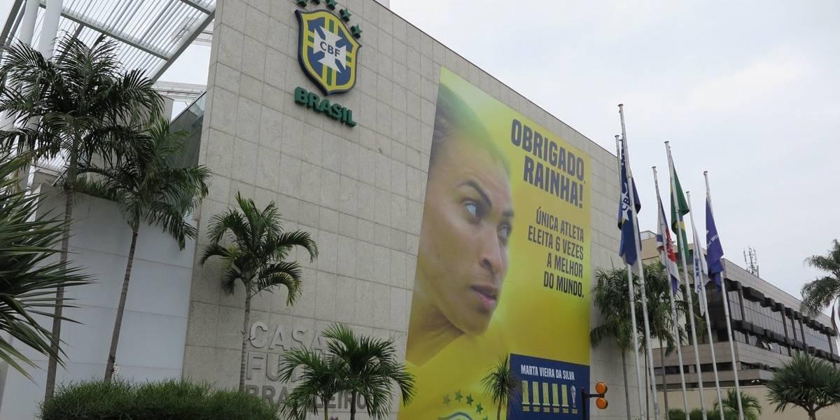 CBF presta homenagem a Marta, melhor jogadora do mundo