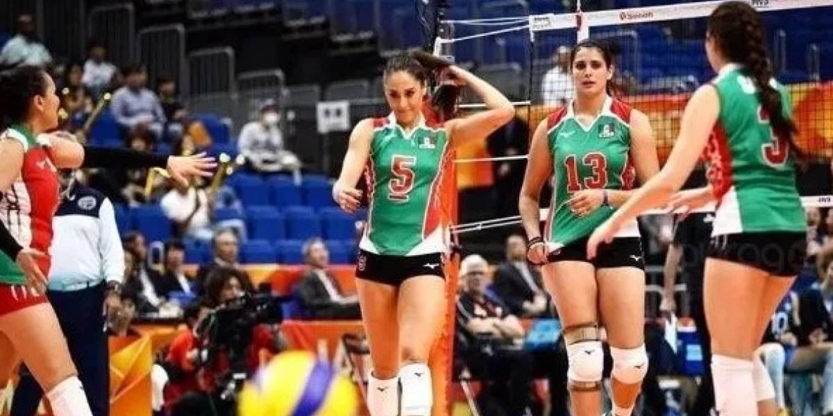 México avanza a la segunda ronda del Mundial Femenil de Voleibol