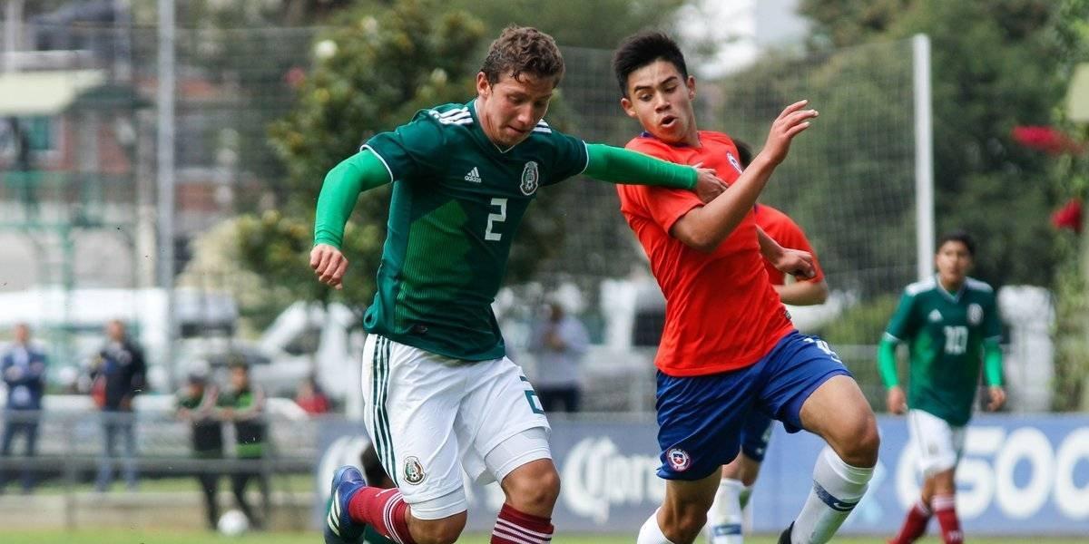 Tri sub 17 debuta con victoria en el Torneo Cuatro Naciones ante Chile