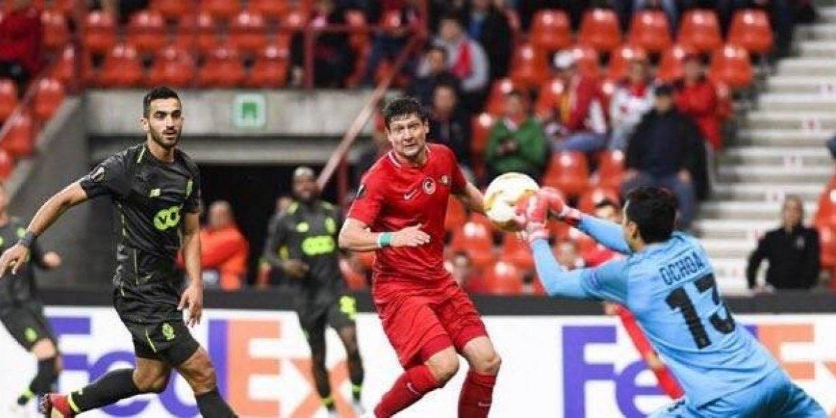 Ochoa y el Standard de Lieja obtienen sufrida victoria en la Europa League
