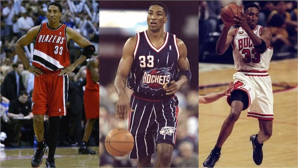 Tras su exitosa carrera con Bulls, Scottie Pippen jugó para Rockets y Blazers. / Especial