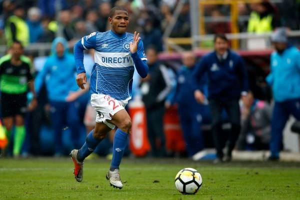 Ante Huachipato, César Munder jugará su duodécimo partido por la UC en el Campeonato Nacional 2018 / Foto: Photosport