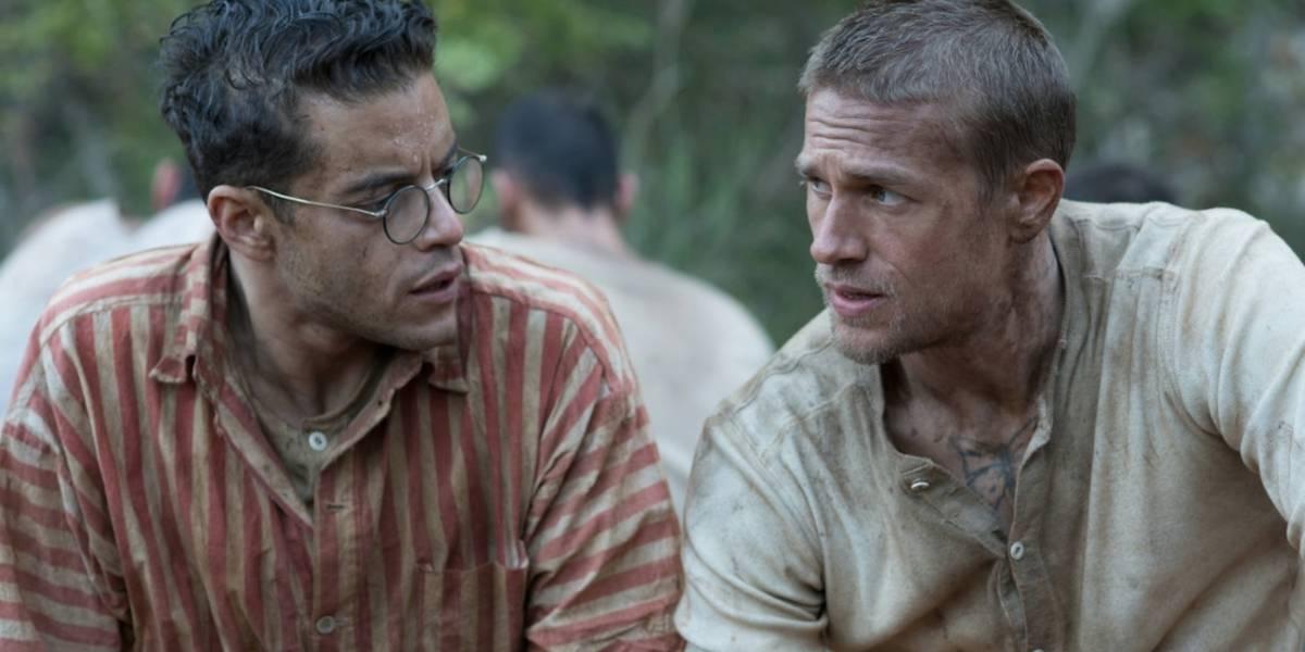 Fuga de prisão de Papillon ganha remake com Charlie Hunnam e Rami Malek
