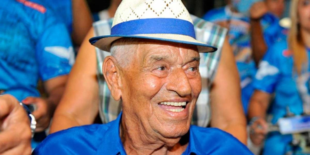 Casquinha da Portela morre aos 95; sambista era parceiro musical de Paulinho da Viola