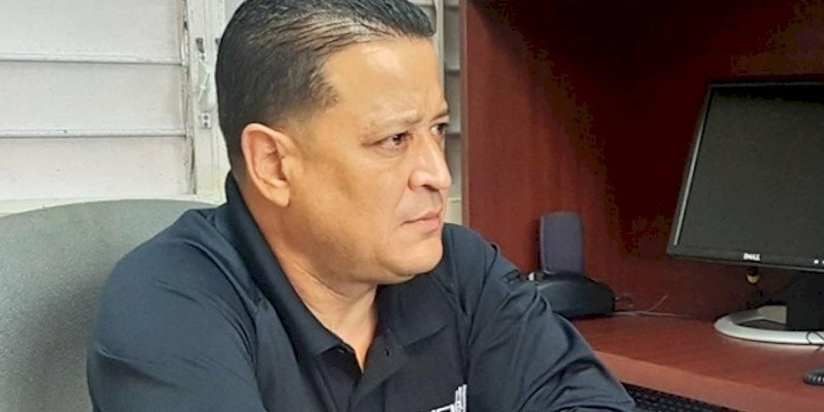 Henry Escalera after police arrest: