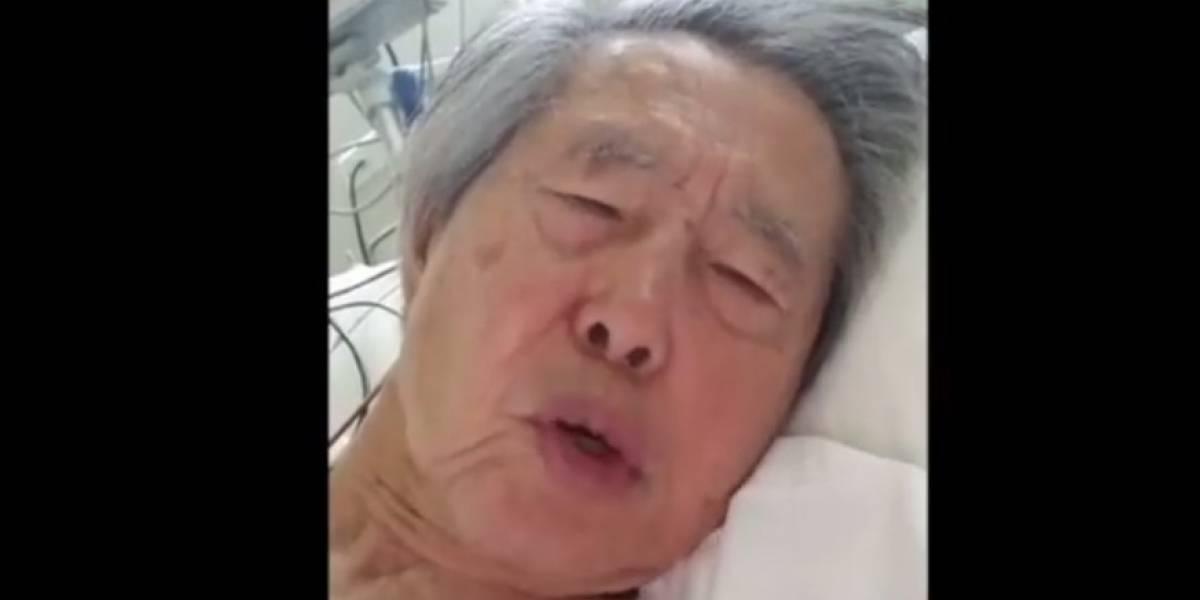 """VIDEO. Fujimorisuplica que no lo envíen a prisión y que""""no lo maten"""""""