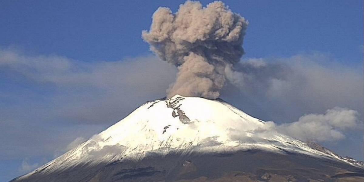 Puebla, Edomex y Morelos en alerta por caída de ceniza del Volcán Popocatépetl