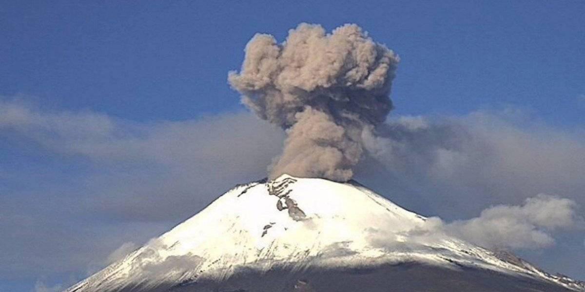 Actividad del volcán Popocatépetl mejora protección civil