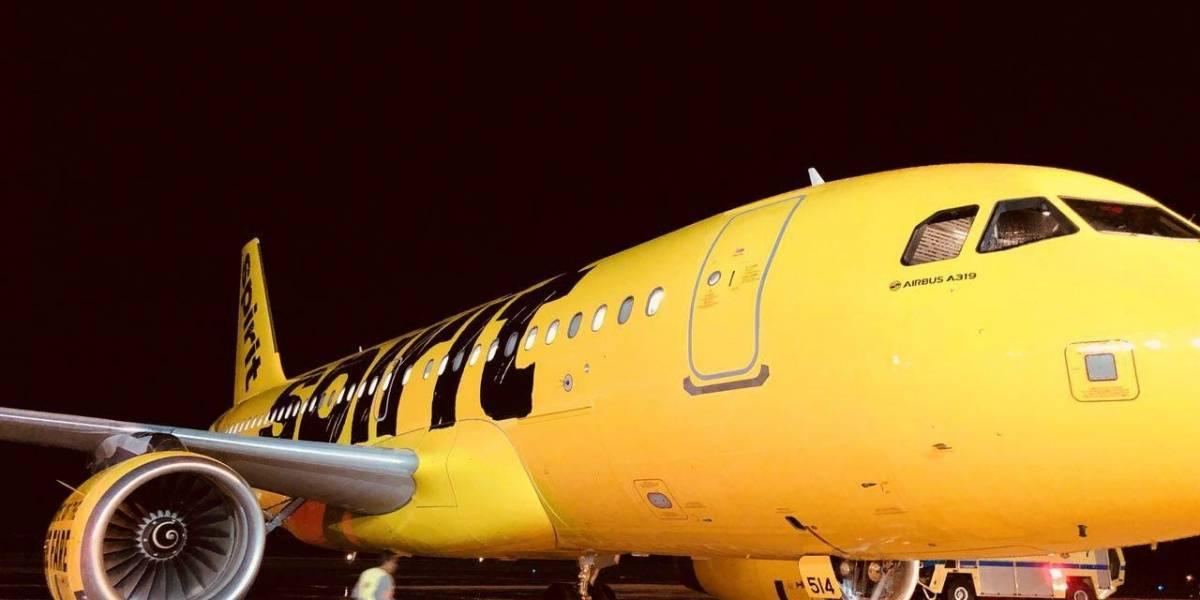 Spirit Airlines estrena nueva ruta desde la Isla