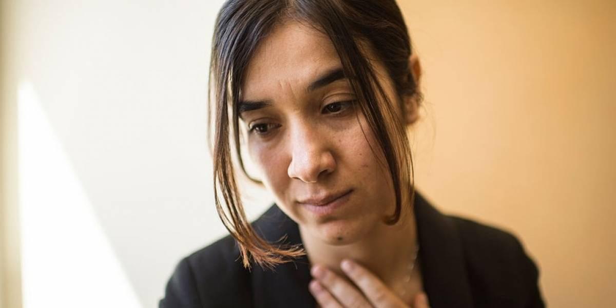 """""""Fui víctima de la yihad sexual"""": el brutal testimonio de Nadia Murad, la ganadora del premio Nobel de la Paz que fue secuestrada y violada por Estado Islámico"""