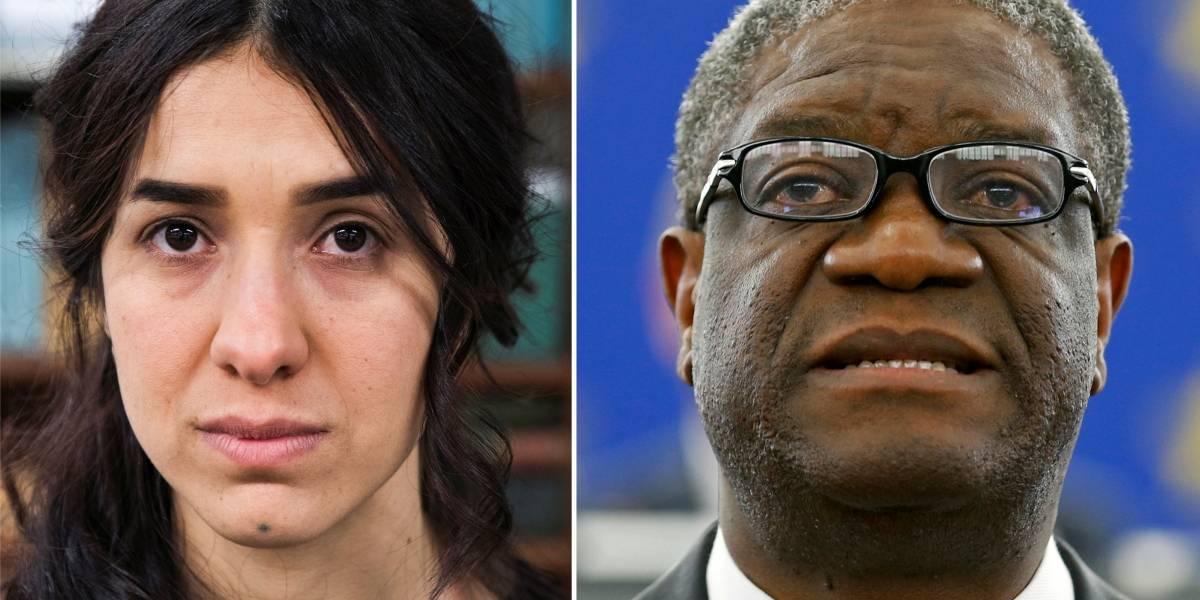 Médico congolês e ativista iraquiana ganham Nobel da Paz por combate à violência sexual