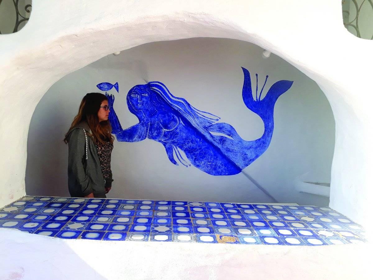 Pinturas da Casapueblo fazem referência ao sol e ao mar | Maicon Bock/Metro