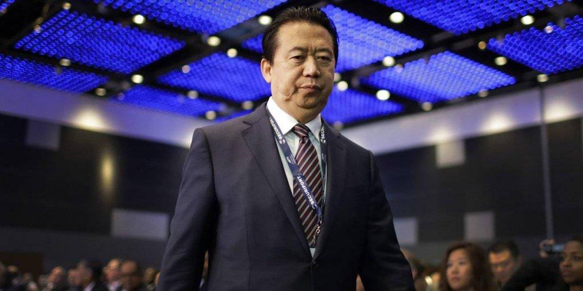 Desaparece el presidente de Interpol