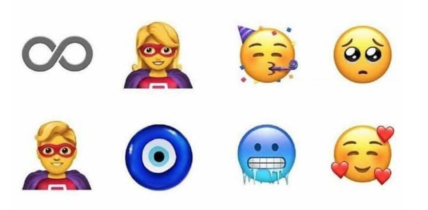nuevos emojis de WhatsApp Captura de pantalla