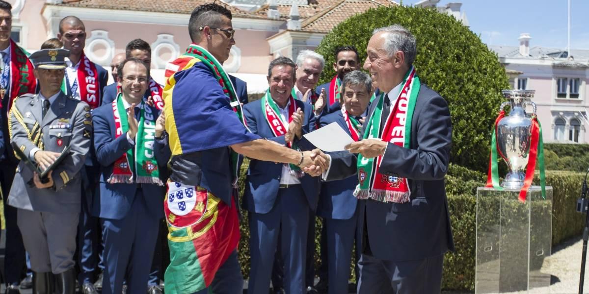 Presidente de Portugal apoya a Cristiano tras demandas por violación