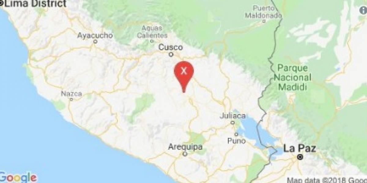 Cuatro sismos se registraron en la provincia de Espinar, cercana al Cusco, en Perú