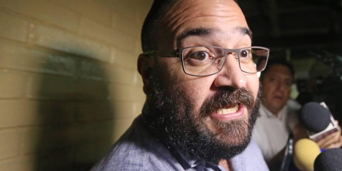 'Creo en la justicia', dice Javier Duarte sobre fiscal Winckler