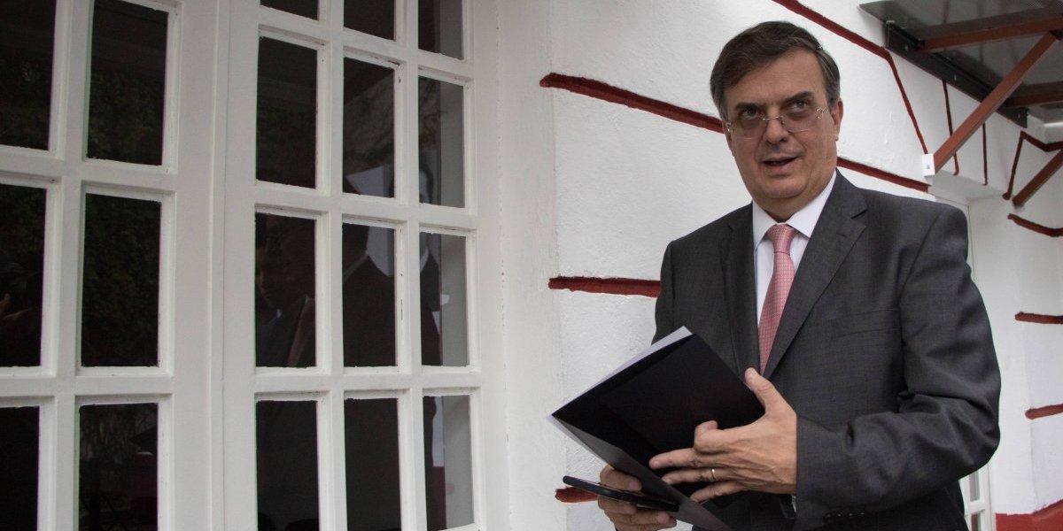 Ebrard confirma más invitados a toma de protesta de AMLO