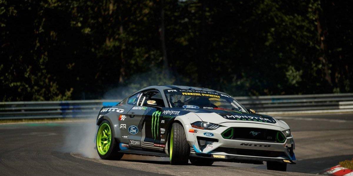 El insólito logro de Ford: recorrer Nürburgring derrapando