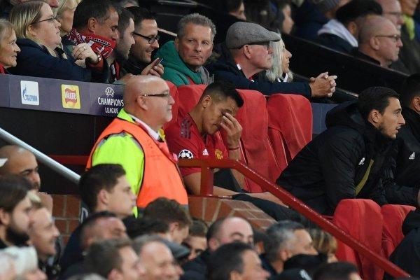 Alexis no lo pasa nada de bien / imagen: Getty Images