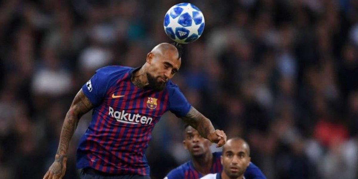 """En Barcelona dan detalles del enojo de Vidal: """"Estaba convencido que formaría parte del once inicial"""""""