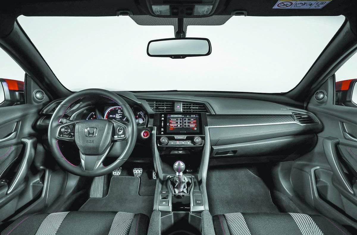 Honda Civic Si vem com exclusivo freio de mão eletrônico | Divulgação/Honda