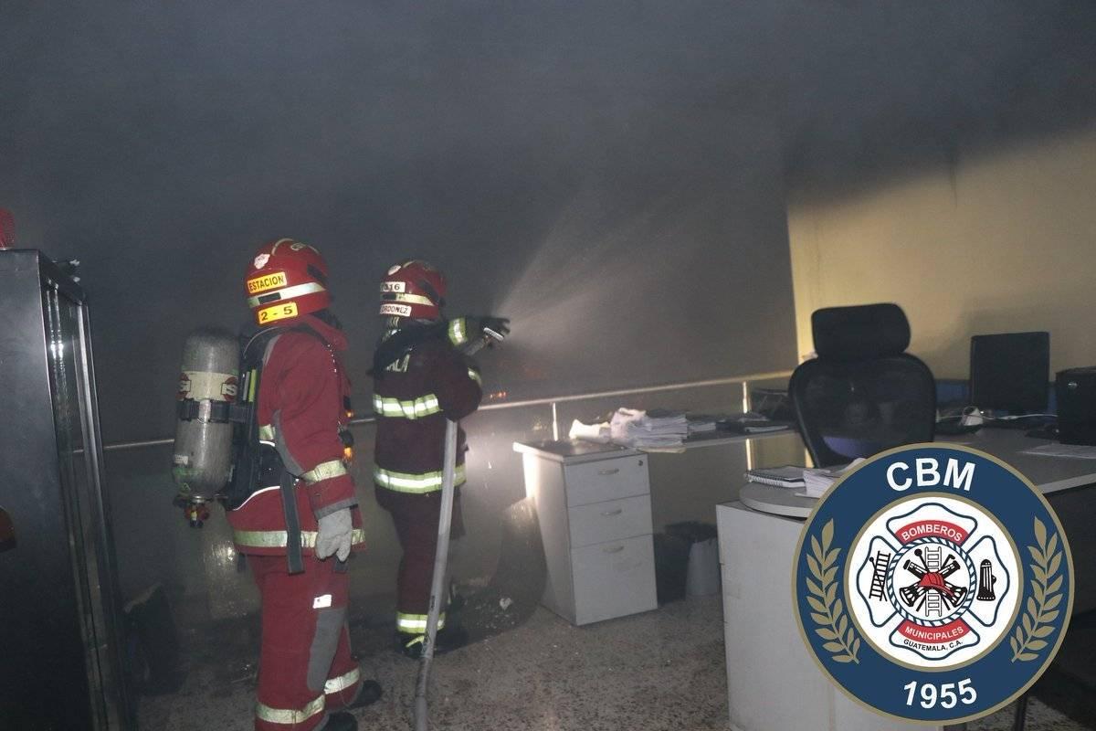 Incendio. Foto: Bomberos Municipales
