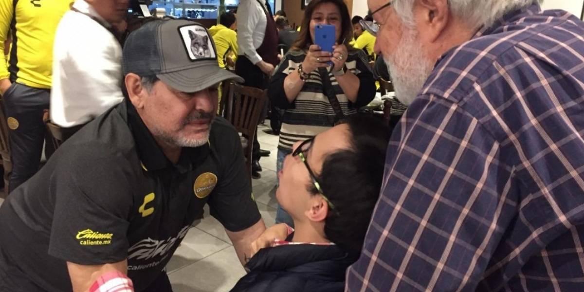 VIDEO: Maradona pasó de villano a héroe en cuestión de minutos